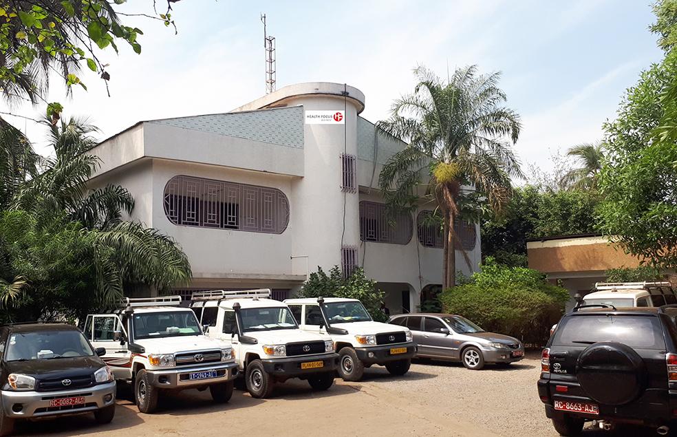 Bureau Hfg À Conakry Klein